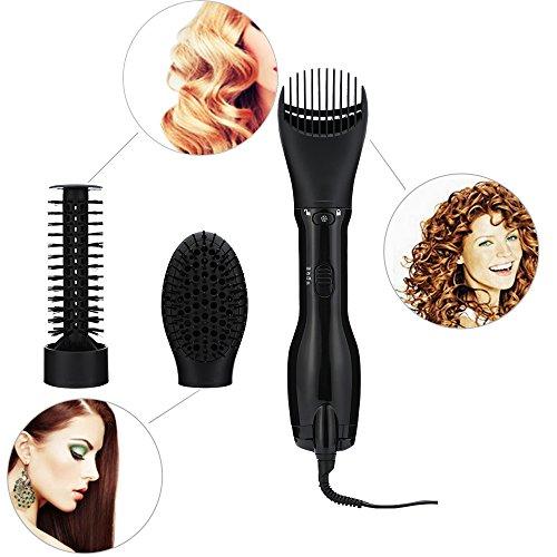 3 in 1 Hair Straightening Brush Hair Dryers Portable Hot Air