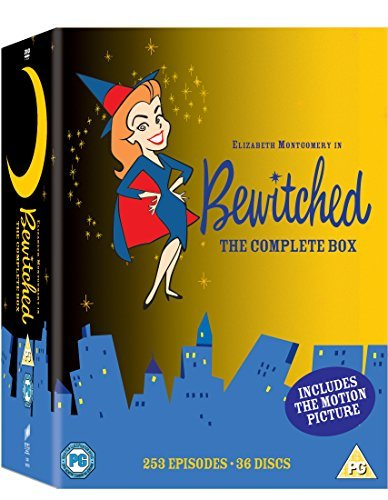 Bewitched: The Complete Box Set DVD by Elizabeth Montgomery ...