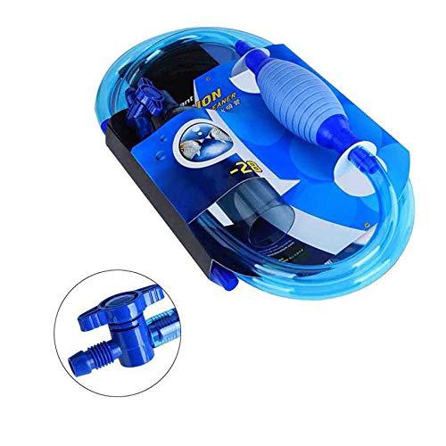 LILAUTO Aquarium Siphon Gravel Cleaner Fisch Sicher Tank Vakuum Pumpe Wasser /ändern Schalter
