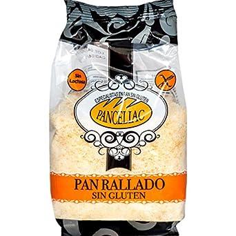 Panceliac Pan Rallado Sin Gluten y Sin Lactosa - 200 gr: Amazon.es: Alimentación y bebidas