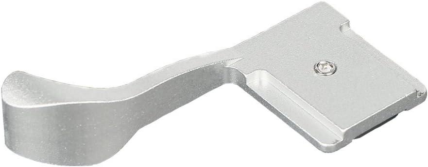DSLRKIT Thumb Up Grip Silver for Panasonic Lumix GH3 G5 GX1 G5 G3 GF2 GF1 G10