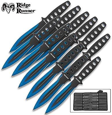 Amazon.com: Ridge Runner Arctic Blue - Juego de cuchillos y ...