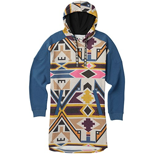 BURTON NUTRITION Burton - Womens Lamb Sid Hoodie 2018, Montezuma, - Fleece Burton Hooded Jacket
