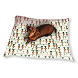 Patch Of Carrots Dog Pillow Luxury Dog Cat Pet Bed