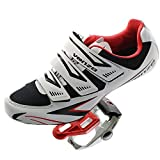 Venzo Road Bike Shimano SPD SL Look Cycling Bicycle Shoes & Pedals