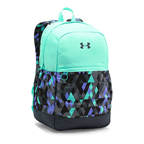 Under Armour Girls' Favorite Backpack, Stealth Gray/Crystal, One Size