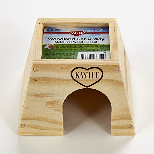 Image of Kaytee Woodland Get-A-Way Small Mouse House
