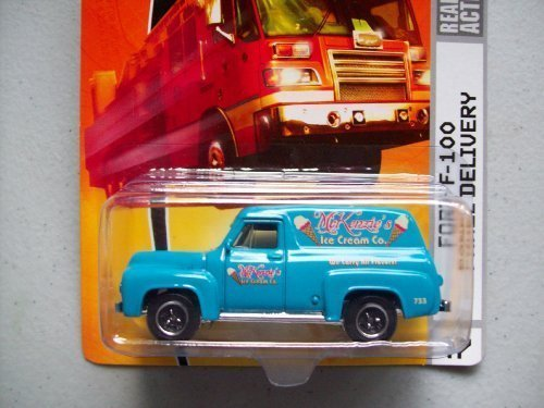 (Matchbox City Action Ford F-100 Panel Delivery Ice Cream Truck by)