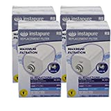 Instapure INSTAPURE_R8_WHITE_4_PACK Replacement Filter, White, 4-Pack
