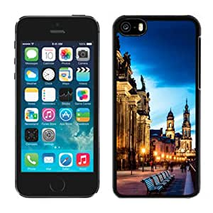Fashionable Custom Designed Cover Case For iPhone 5C With Altstadt Dresden Germany Phone Case Cover