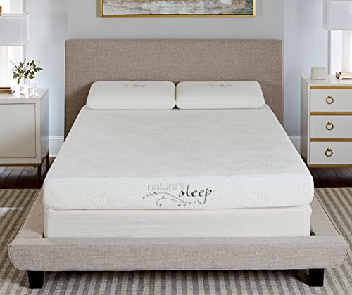 "Nature's Sleep 8"" Gel Memory Foam Mattress, Queen"