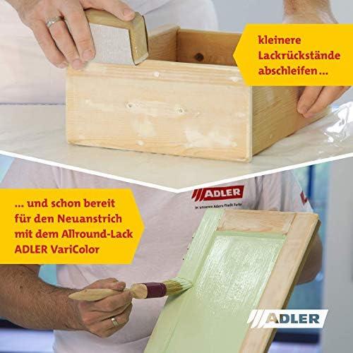 ADLER Decapante Express - 500ml - Removedor de barniz altamente efectivo para madera, metal, piedra y hormigón - Fácil de usar