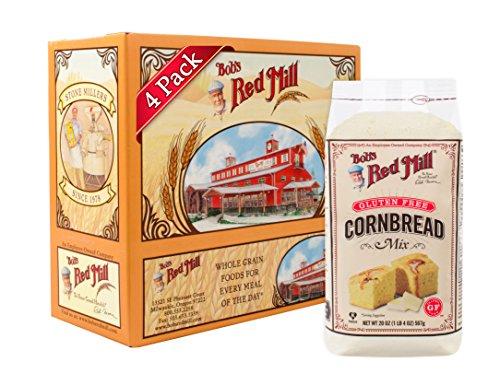 Bob's Red Mill Gluten Free Cornbread Mix, 20-ounce (Pack of 4) ()