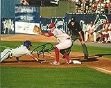 Philadelphia Phillies Rhys Hoskins Autographed 16x20 Photo (Glove)