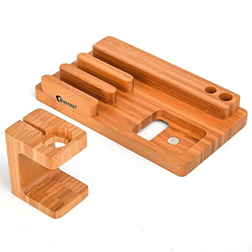Apple-Watch-StandBAVIER-Bamboo-Wood-Charge-DockCharge-Dock-HolderBamboo-Wood-Charge-StationCradle-for-Apple-WatchiPhonesmartphoneiPhone-iPad-and-Smartphones-and-Tablets