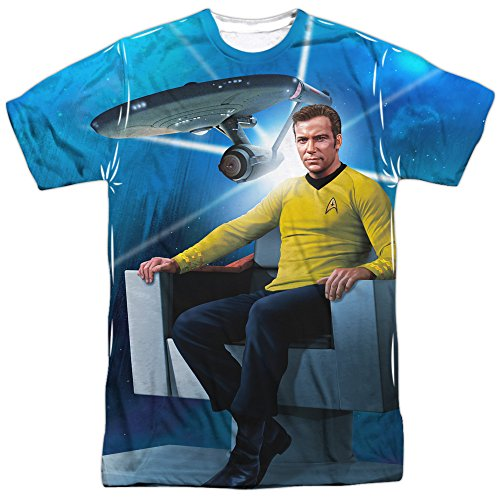 Star Trek Captain Kirk's Chair Adult T-Shirt