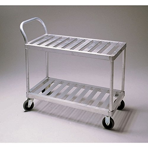 New Age Industrial Produce/Stocking Cart w/Push Handle