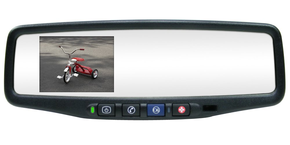 Rostra 250-8802-CMOS Magna 3.5-Inch TFT LCD GM Replacement Rear View Mirror Monitor and 1/4-Inch CCD Color Camera