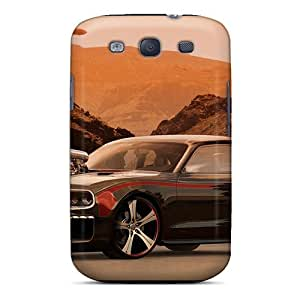 AnnetteL GZwTisA6712xShTK Case For Galaxy S3 With Nice Dodge Challanger Suppercharged Appearance