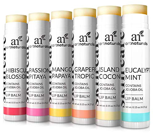 Art Naturals® 100% Natural Lip Balm Beeswax - 6 Pack 0.15 o