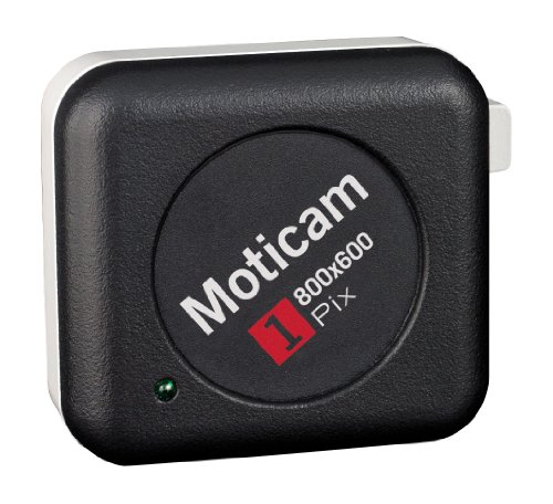 National Optical MOTICAM 1 Digital Camera, 0.4 Mega Pixel, 800 x 600 Maximum Resolution by National Optical