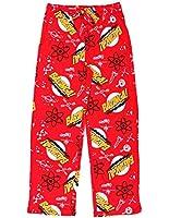 The Big Bang Theory Bazinga Red Adult Lounge Pants