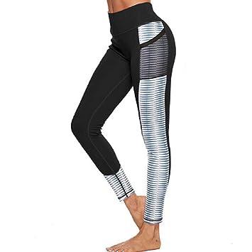 Vaycally Pantalones largos de yoga para mujer Leggings ...