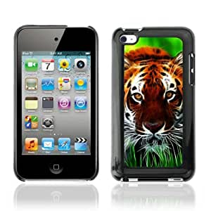 Designer Depo Hard Protection Case for Apple iPod Touch 4 / Tiger