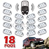 xkglow control module - Premium Remote Control 18 Pod 108 LED 4x4 Off Road Vehicle Rock Fender Light Kit