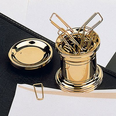 Paper Clip Holder Gold by PhotoFramesPlus