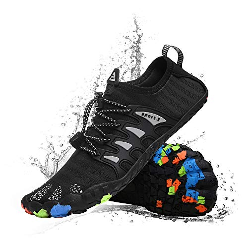 Water Shoes for Women Men Barefoot Quick-Dry Shoes Aqua Shoes Swim Shoes Mens Womens Water Sports Shoes River Shoes (Best Shoes For River)