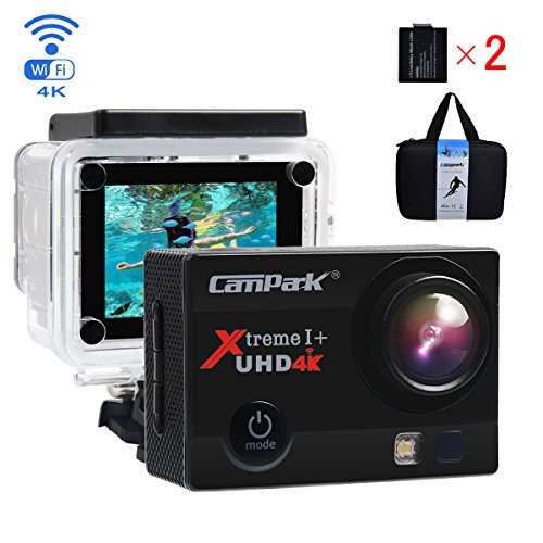Campark ACT74 Action Cam 16MP 4K WiFi Waterproof Sports Came