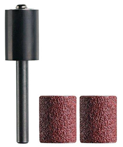 Dremel TR407 TRIO Sanding Mandrel Plus 2 Sanding Bands Grit 60 Robert Bosch Ltd 2615T407JA