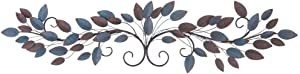 Deco 79 Metal Wall Decor, 51 by 12""
