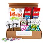 #4: Keto Snacks Box (20ct): Gluten Free, Low Sugar, Low Carb, Meats/Protein Bars, Cheese Crisps, Cookies, Nuts, Gum, and Other Individually Wrapped Ketogenic Friendly Foods/Snax