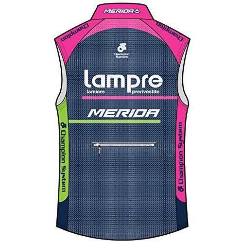 dd7e04be7 Champion System Lampre-Merida Wind Guard Vest Cycling Gilet GENUINE XL   Amazon.co.uk  Sports   Outdoors