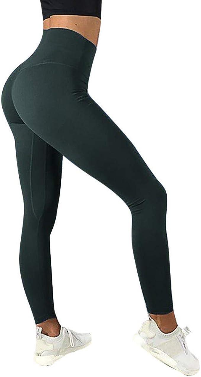 Mosstars Leggings Deporte Mujer Push up Pantalones Yoga de Verano ...