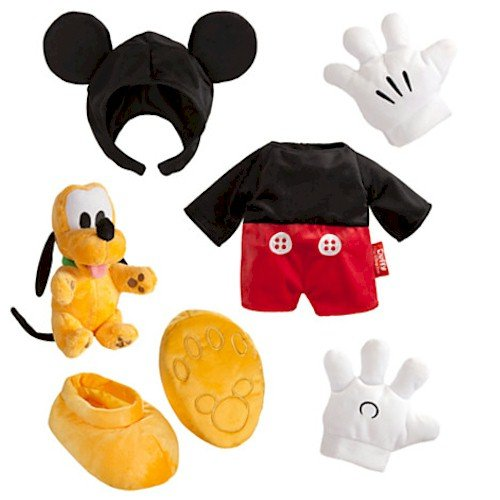 Duffy the Disney Bear Mickey Mouse (Disney Pluto Costumes)