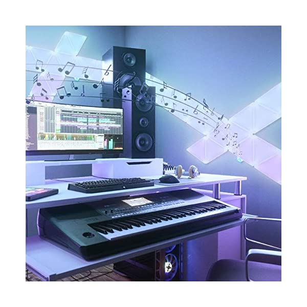 Nanoleaf Rhythm Edition Smarter Kit Nl28 2003tw 9pk