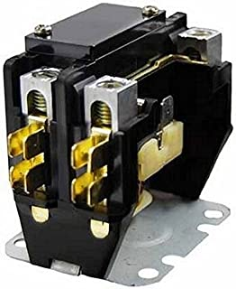 packard packard c240a contactor 2 pole 40 amps 24 coil voltage rh amazon com HVAC Contactor Wiring Diagram packard c140a contactor wiring diagram
