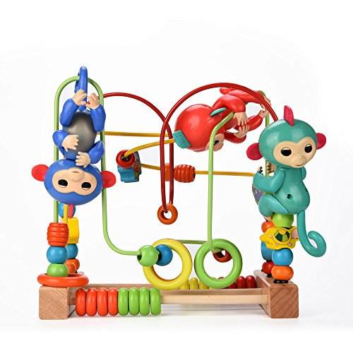 Chanmin For Jungle Gym Playset Interactive Baby Monkey Climbing Stand(Not Fingerlings Monkey)