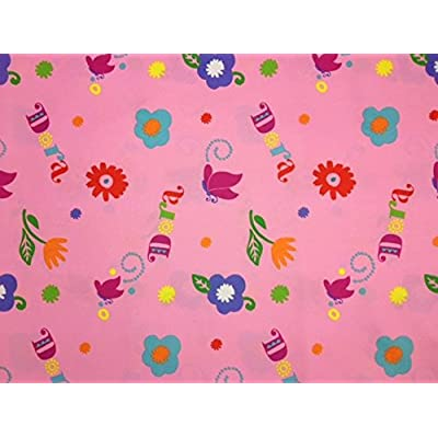 Dora Hola Explorer (Flat Top Sheet Only) Size Toddler Girls Kids Bedding: Baby
