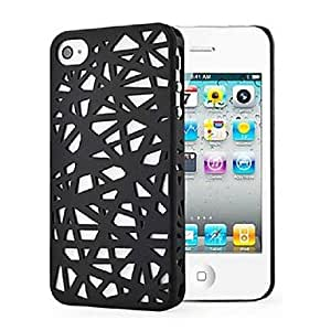 DUR Bird Nest Rear back cover case for iphone4/4S , Coffee