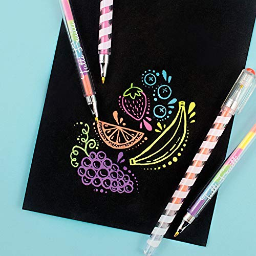 Ooly Tutti Frutti Gel Pens - Set of 6 by Ooly (Image #1)