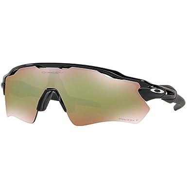2d1eb764eb Amazon.com  Oakley Men s Radar Ev Path Polarized Iridium Rectangular  Sunglasses
