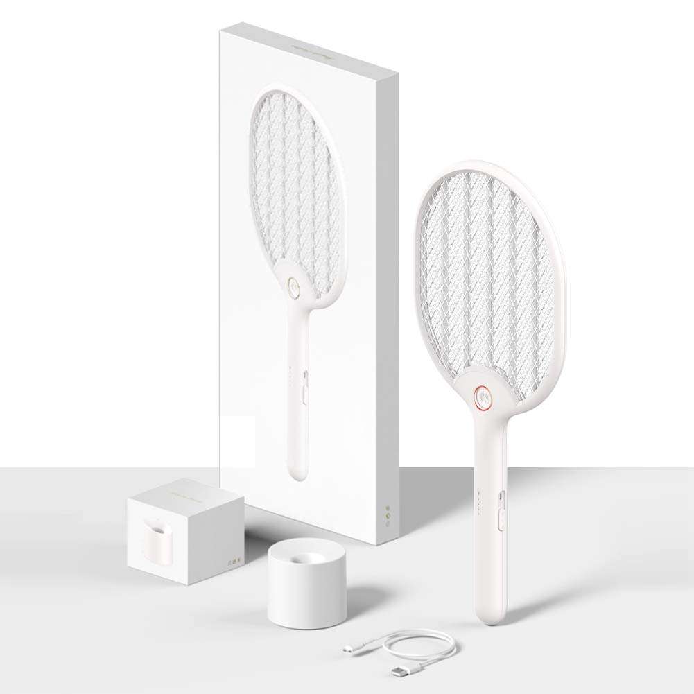 Vandue Corporation Modern Home e-Flyswatter Rechargeable Electric Fly Swatter with Flashlight (White) by Vandue Corporation