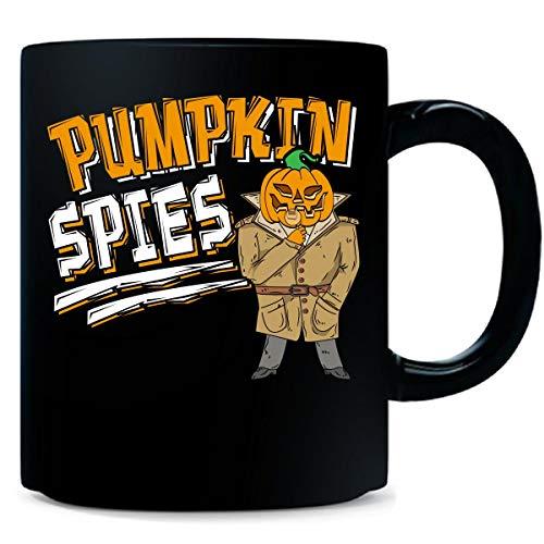 Pumpkin Spies Funny Halloween Pun Outfit - Mug