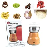 Milue Electric Stainless Steel Coffee Bean Grinder Home Milling Machine Kitchen 220V