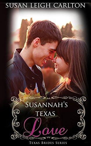 book cover of Susannah\'s Texas Love