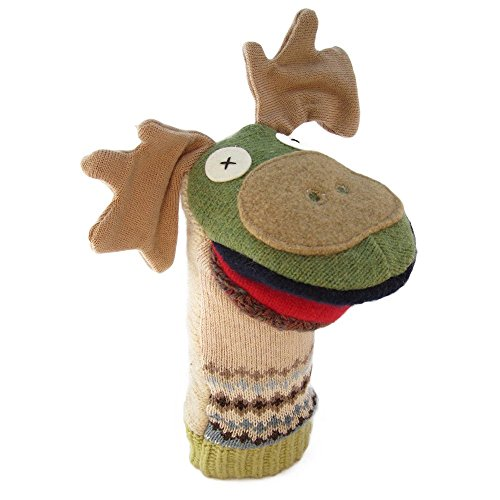 Moose Hand Puppet - 7